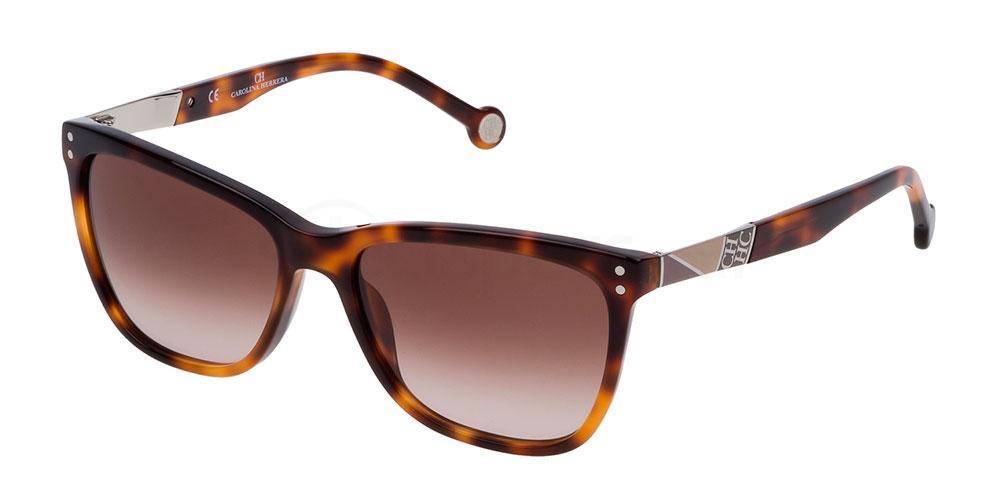 09AJ SHE749 Sunglasses, CH Carolina Herrera