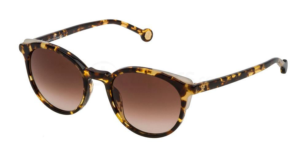 0741 SHE742 Sunglasses, CH Carolina Herrera