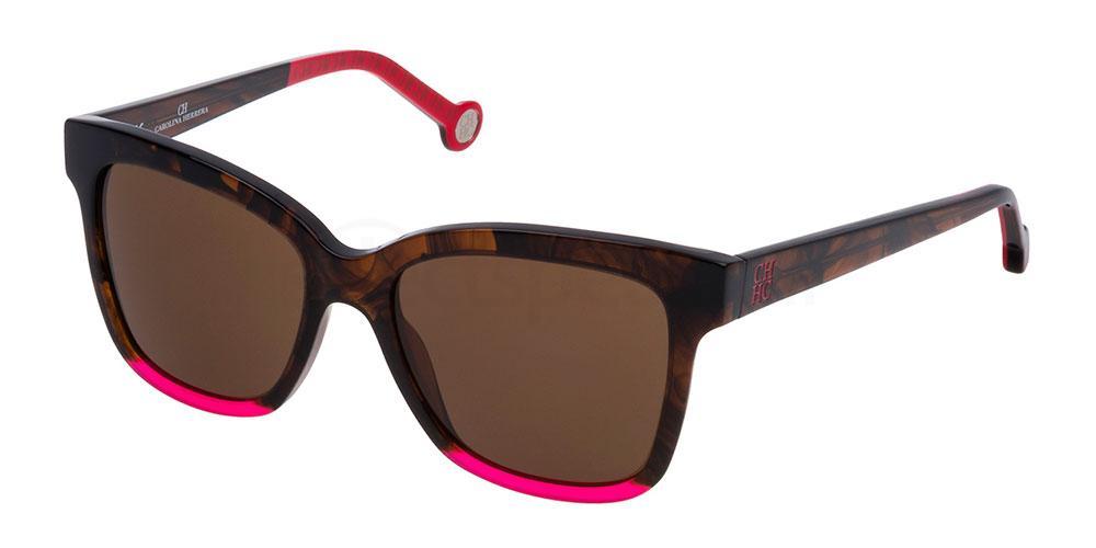06YH SHE744 Sunglasses, CH Carolina Herrera