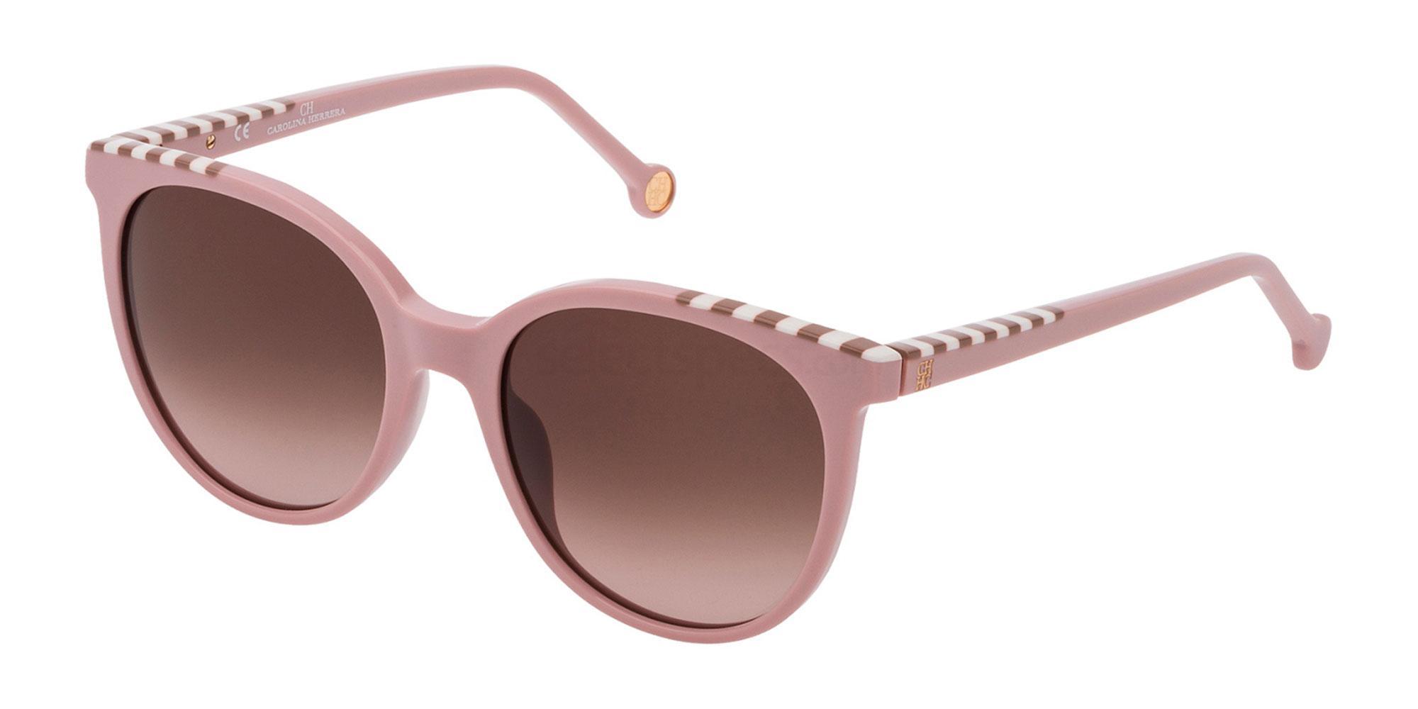 0816 SHE794V Sunglasses, CH Carolina Herrera