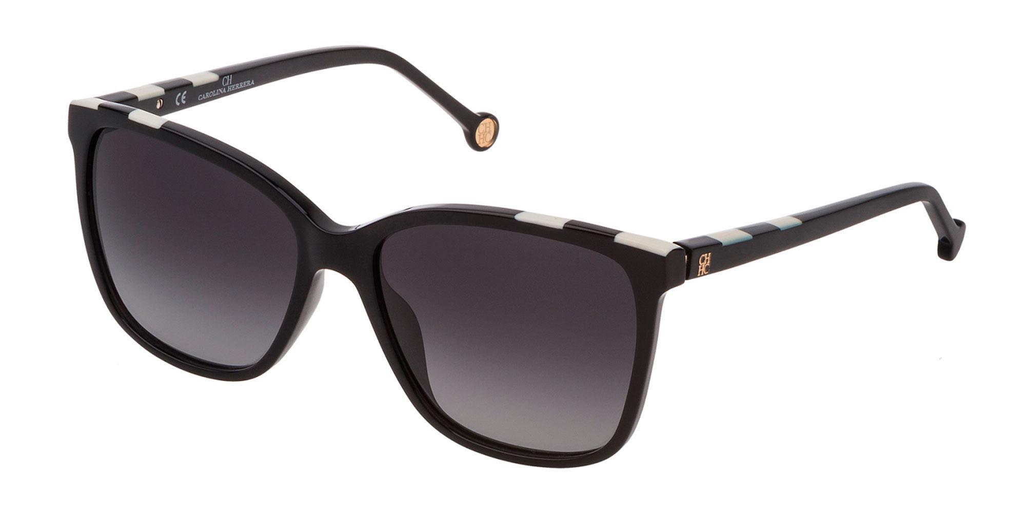 0700 SHE795 Sunglasses, CH Carolina Herrera