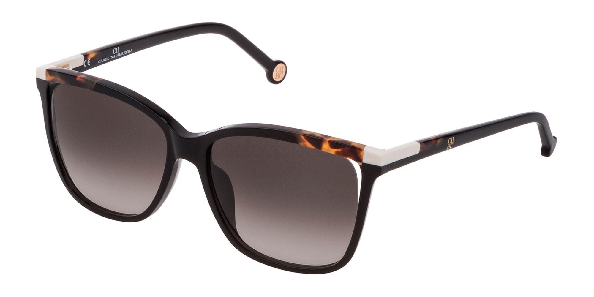 0700 SHE821 Sunglasses, CH Carolina Herrera
