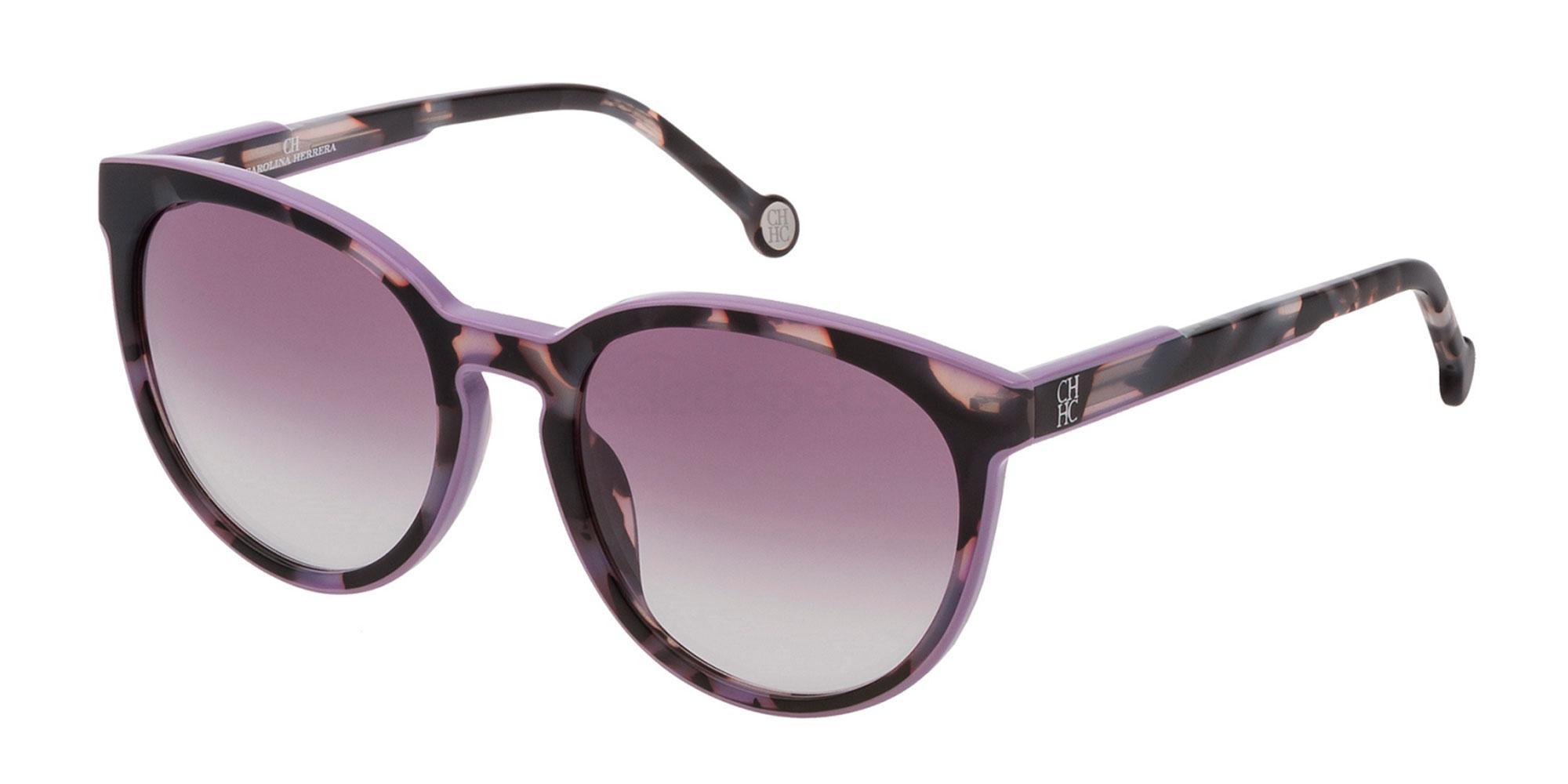 09QA SHE793 Sunglasses, CH Carolina Herrera