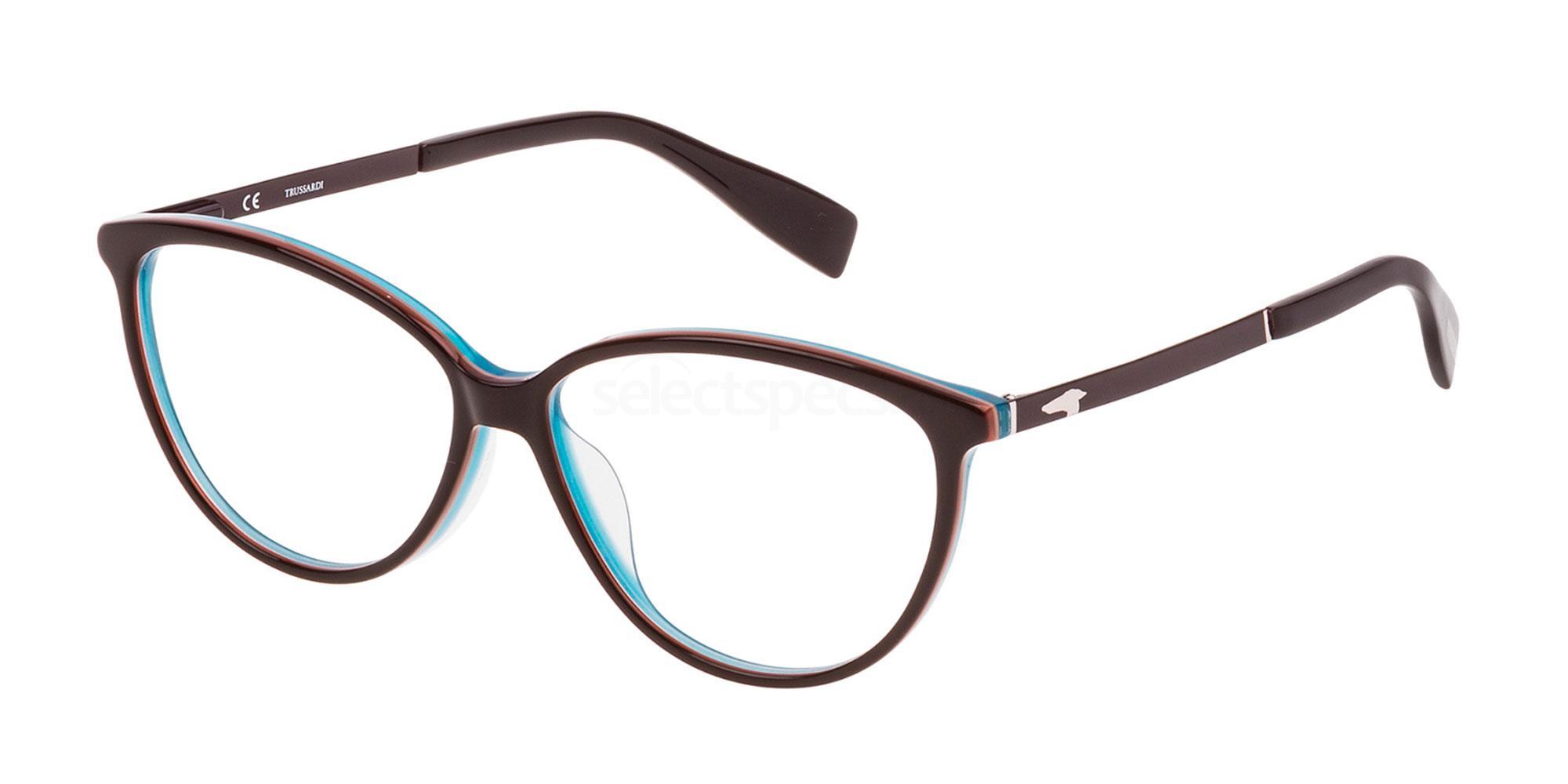 01BA VTR055N Glasses, Trussardi