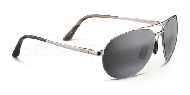 210-17 Pilot Sunglasses, Maui Jim