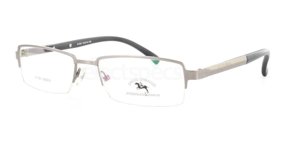 Gunmetal S1081 Stainless Steel Glasses, The SS Collection