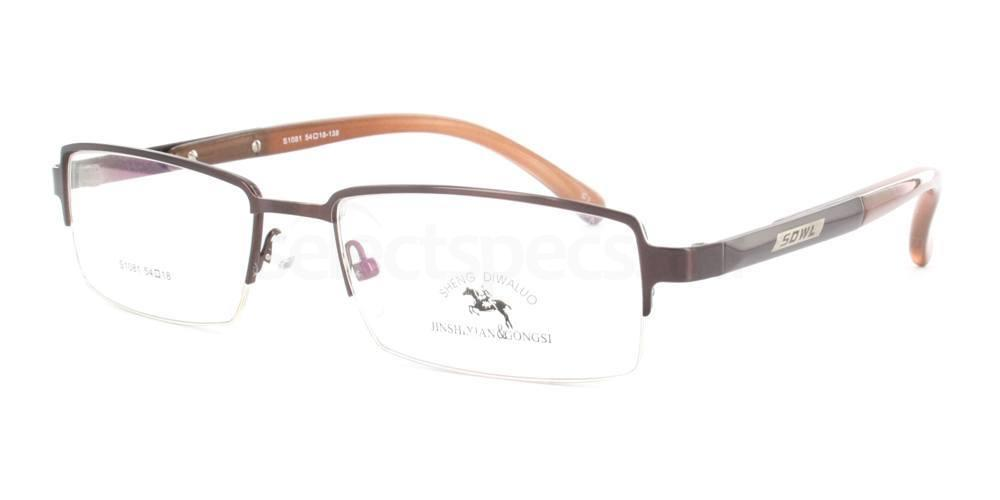 Brown S1081 Stainless Steel Glasses, The SS Collection