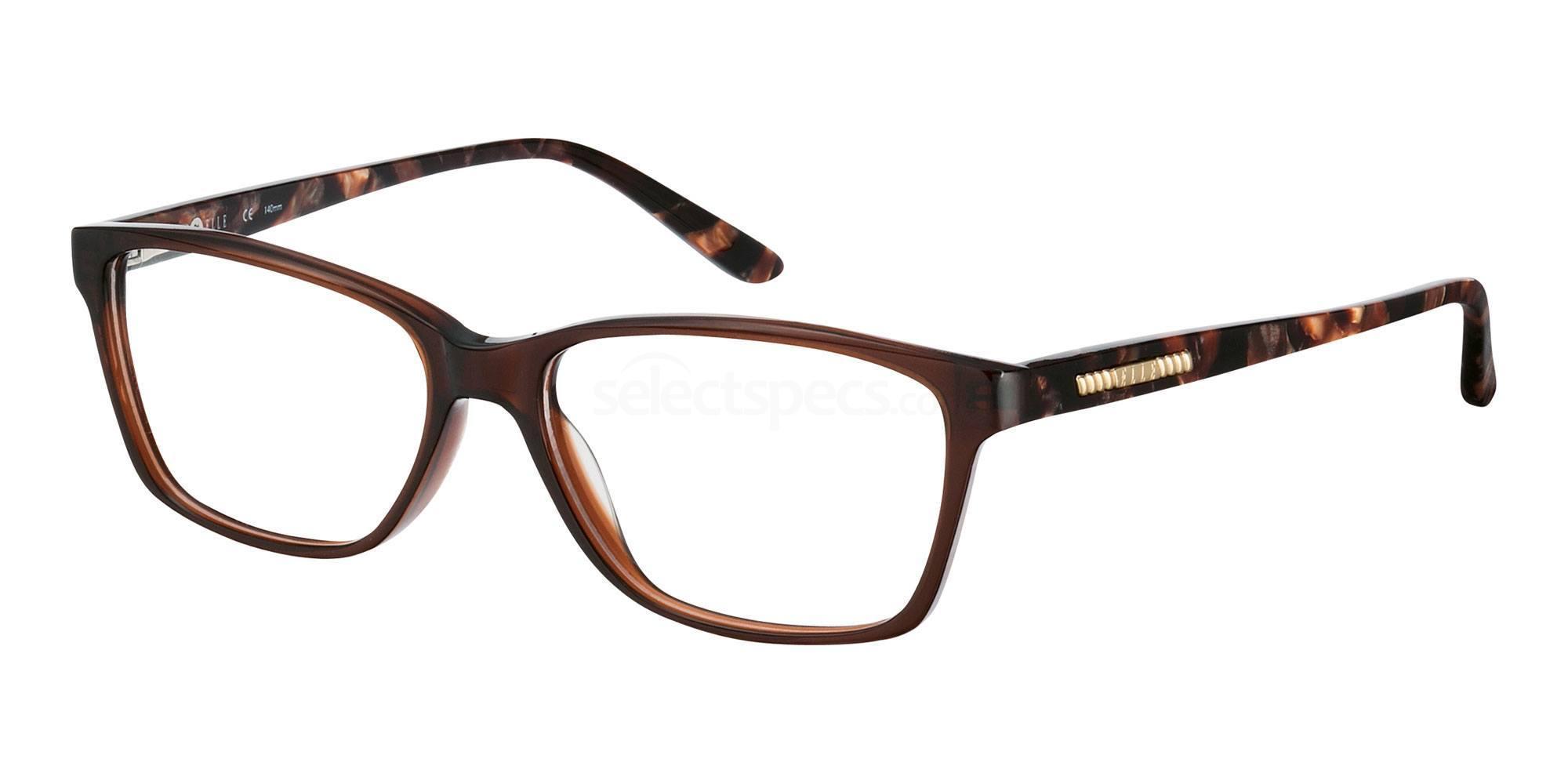 BR EL13367 Glasses, ELLE