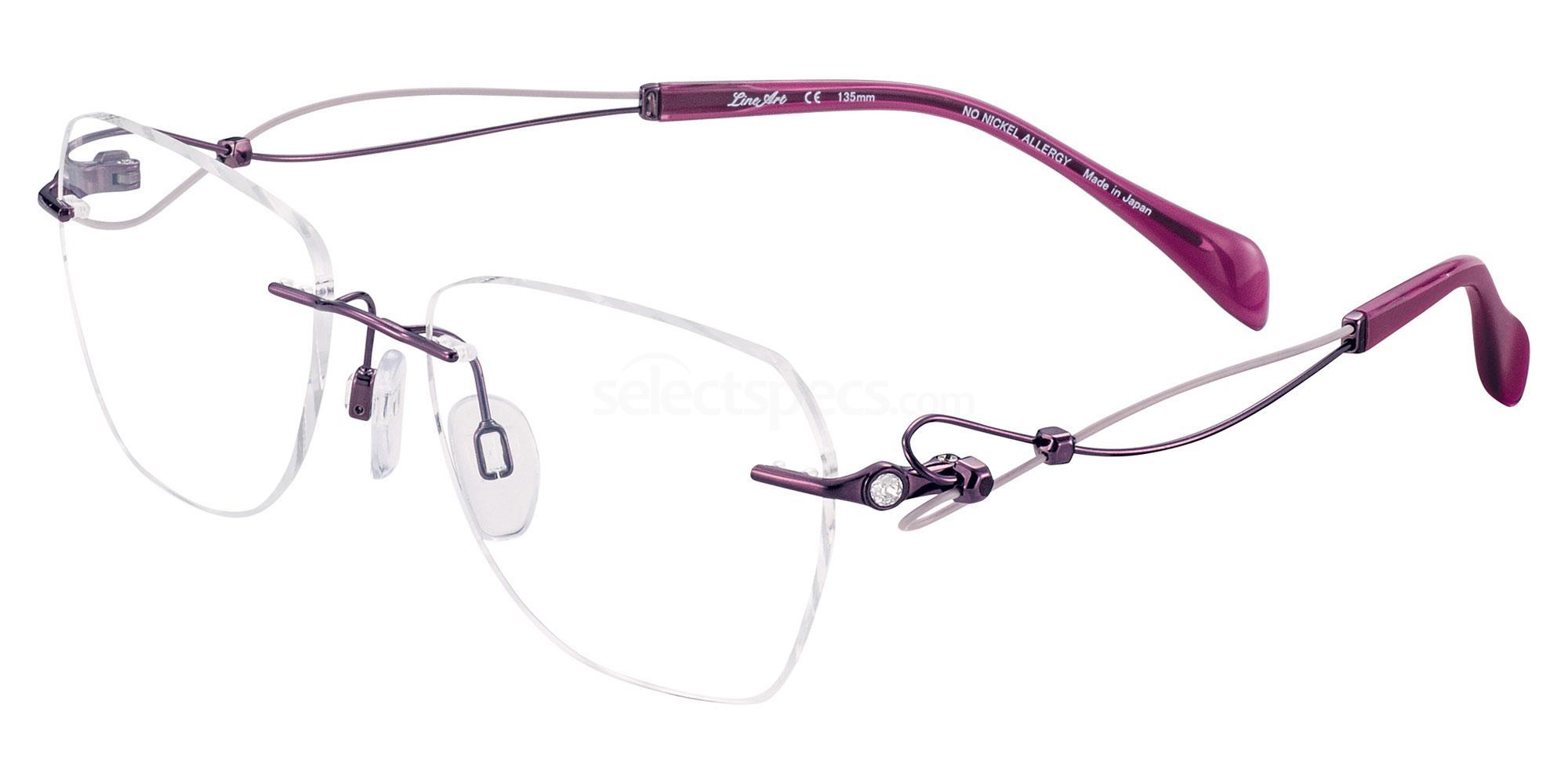 PU XL2096 Glasses, Lineart Charmant