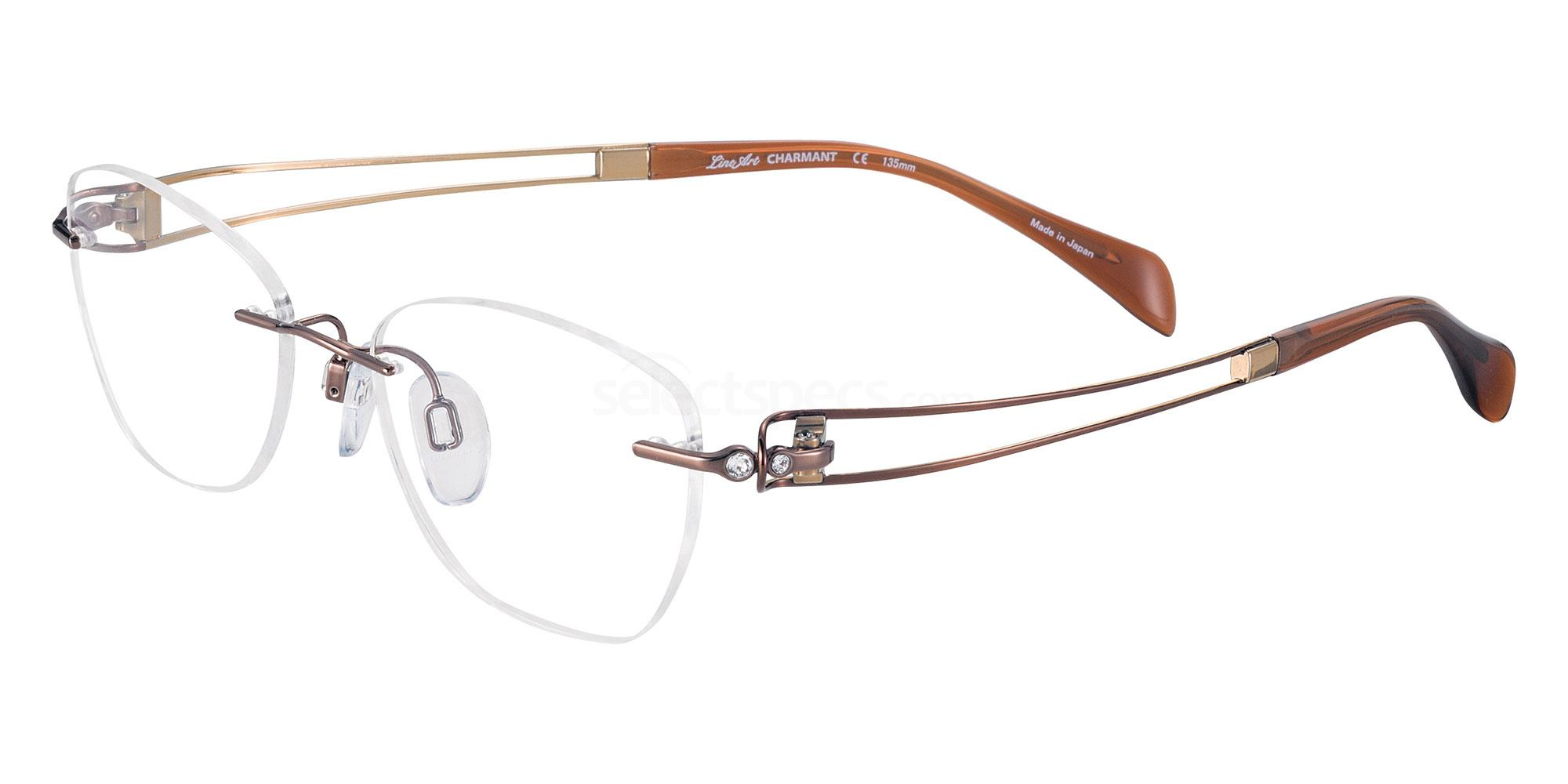 BR XL2136 Glasses, Lineart Charmant