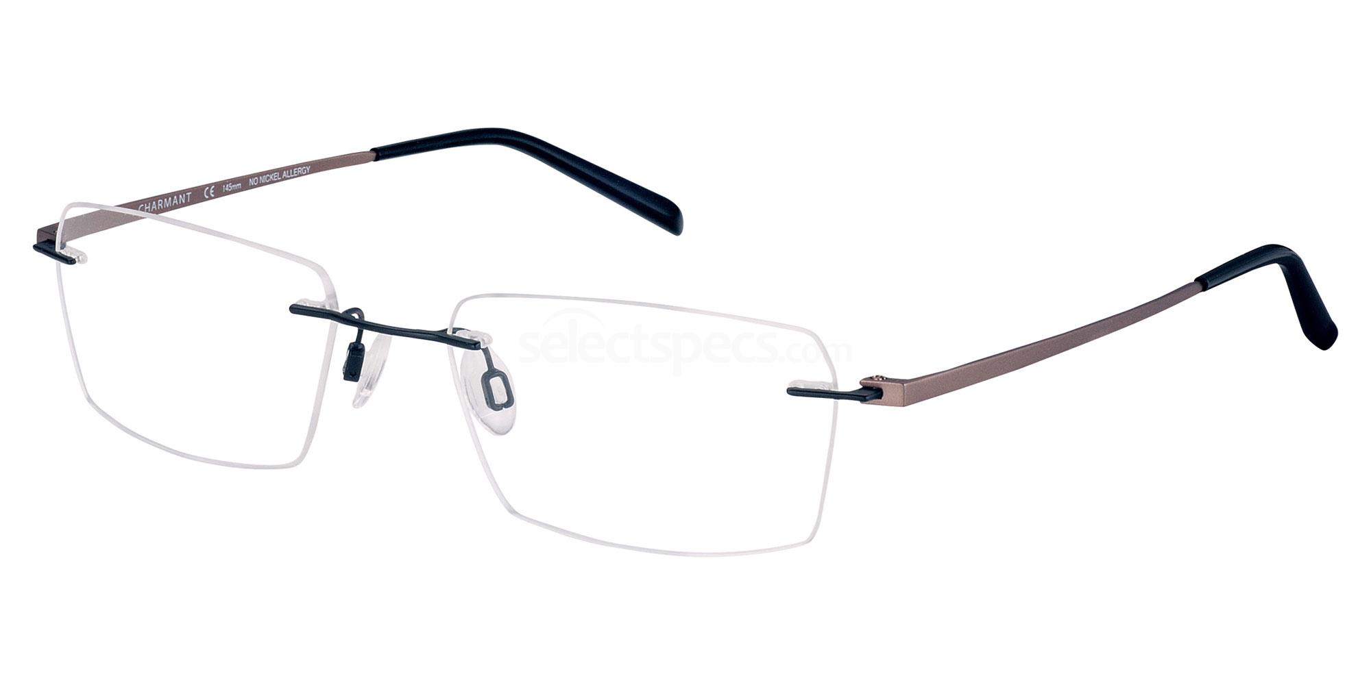 BK CH10973 Glasses, Charmant Titanium Perfection
