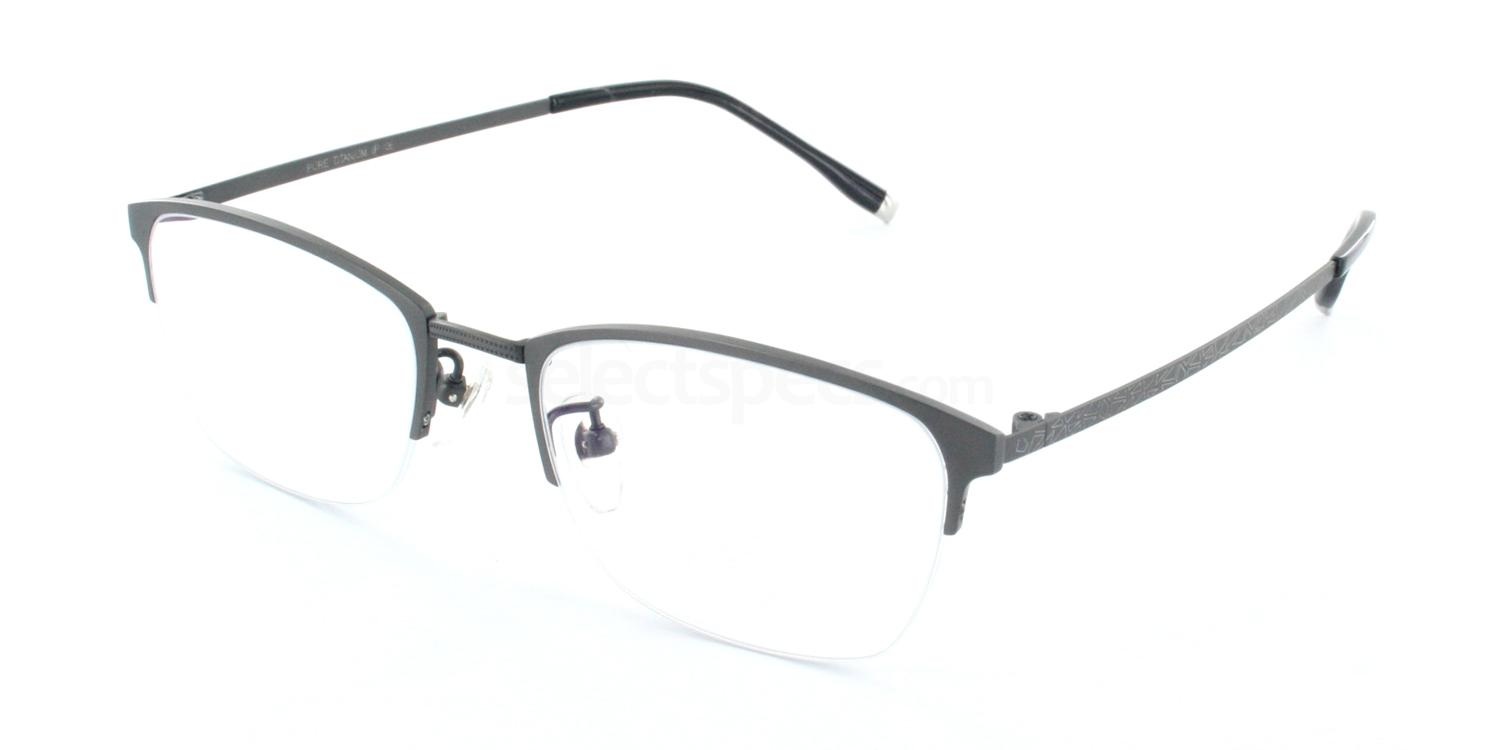 C02 5809 Glasses, Tesla Pure Titanium