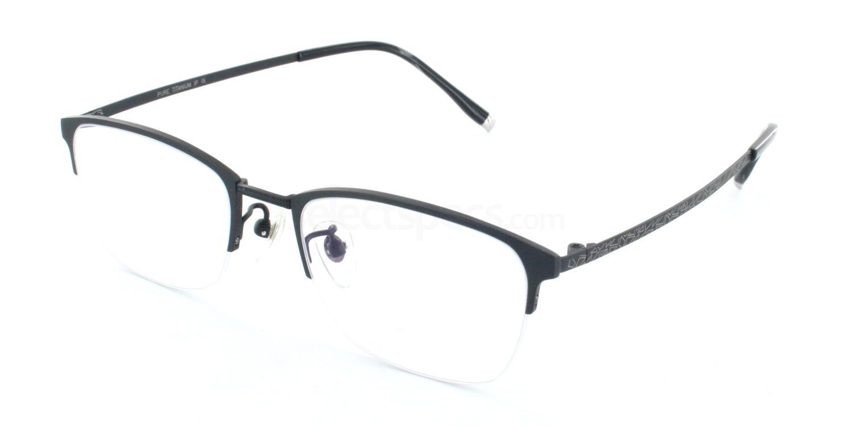 C07 5809 Glasses, Tesla Pure Titanium