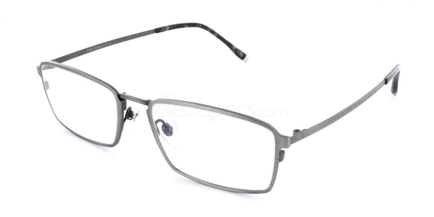C03 5810 Glasses, Tesla Pure Titanium