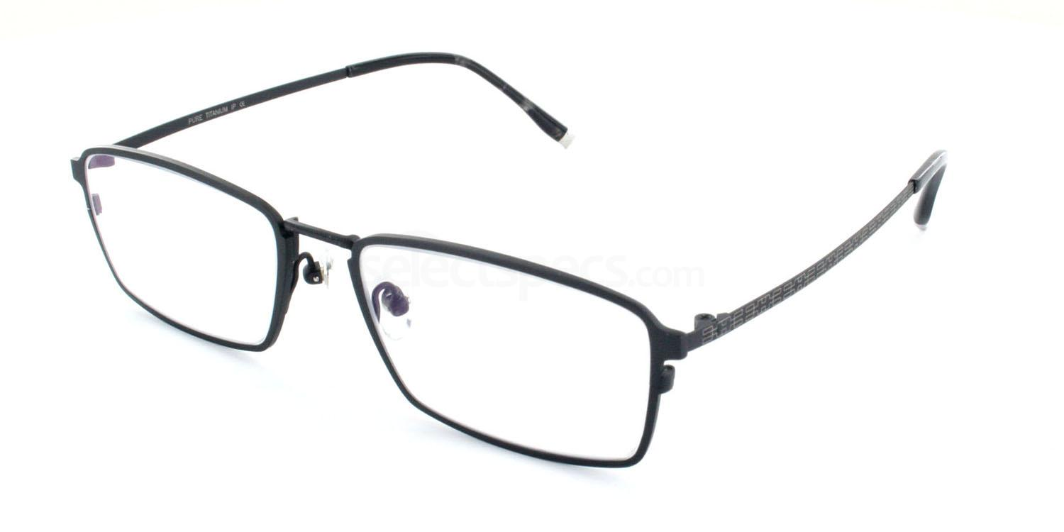 C07 5810 Glasses, Tesla Pure Titanium