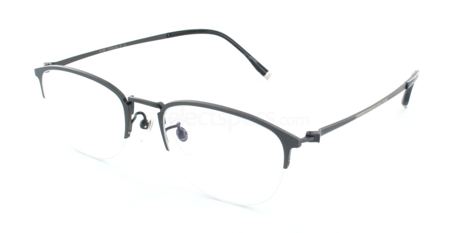 C03 5811 Glasses, Tesla Pure Titanium