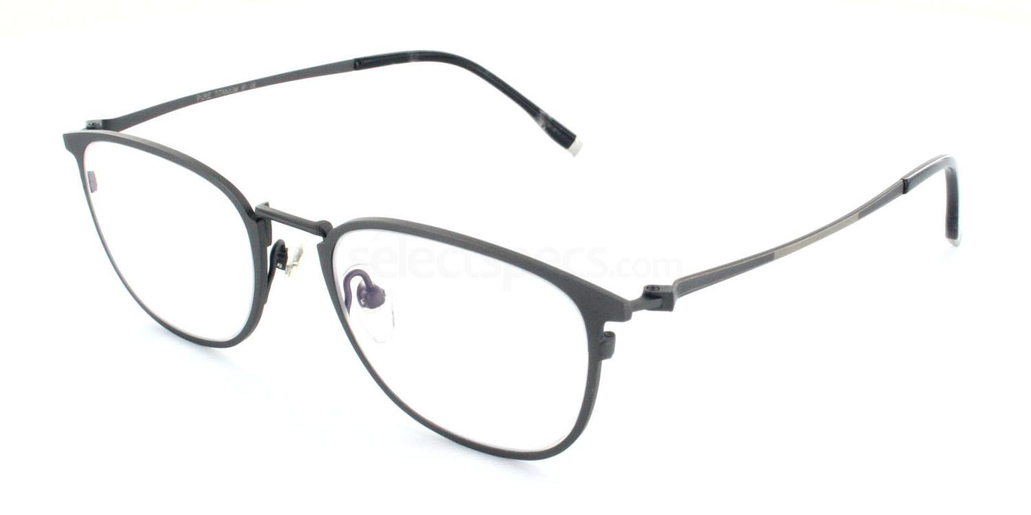C03 5812 Glasses, Tesla Pure Titanium