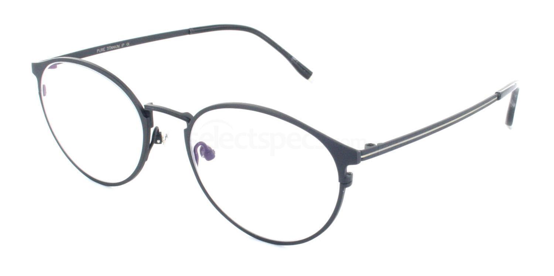 C07 5816 Glasses, Tesla Pure Titanium