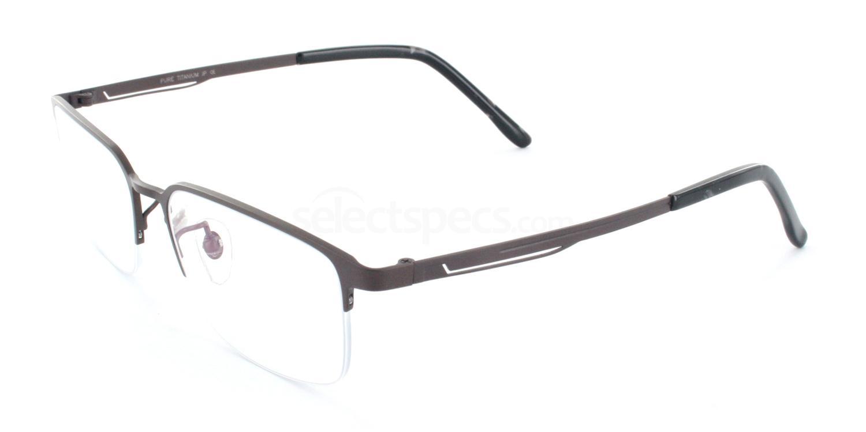 C09 T5519 Glasses, Tesla Pure Titanium