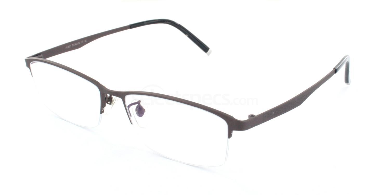 C09 T5603 Glasses, Tesla Pure Titanium