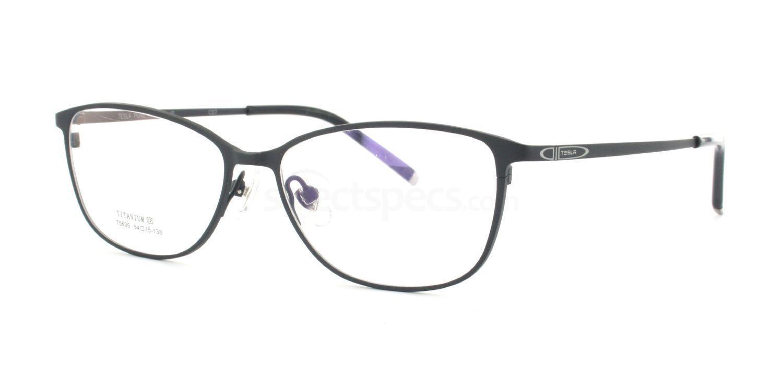 C07 T5606 Glasses, Tesla Pure Titanium