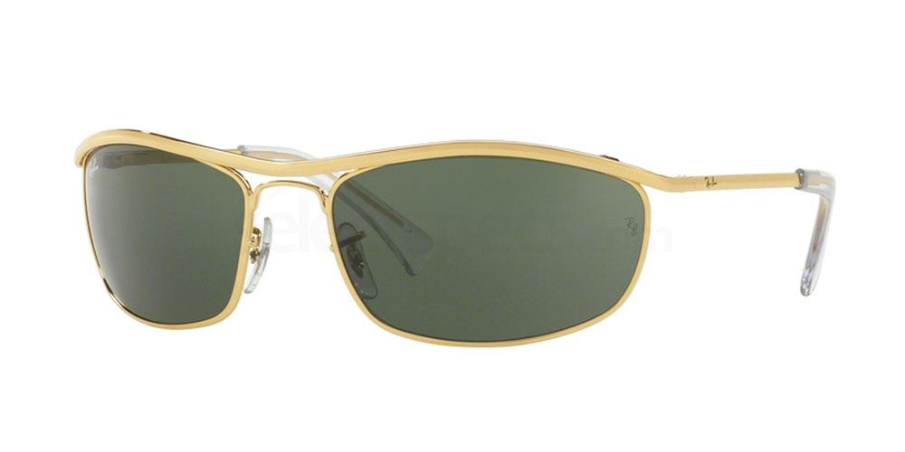 001 RB3119 OLYMPIAN Sunglasses, Ray-Ban