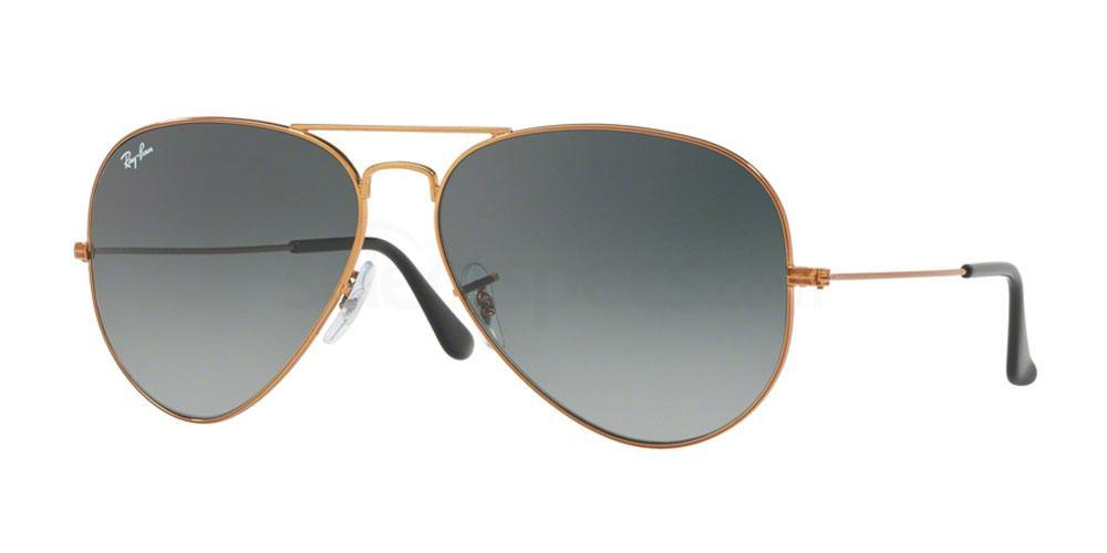 197/71 RB3026 Aviator - Large Metal II Sunglasses, Ray-Ban