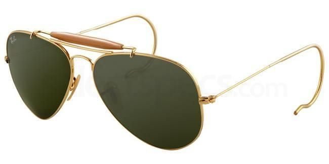 L0216 RB3030 Aviator - Outdoorsman Sunglasses, Ray-Ban