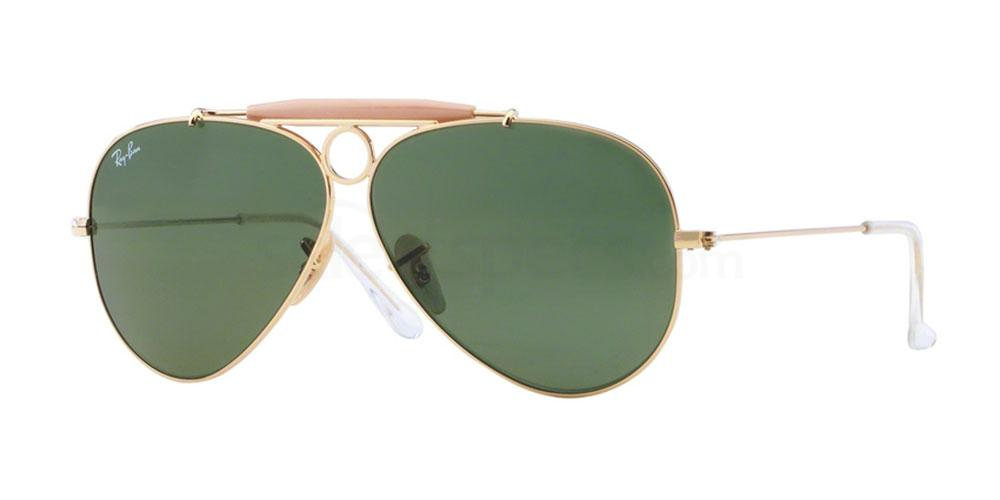 001 RB3138 Aviator - Shooter Sunglasses, Ray-Ban