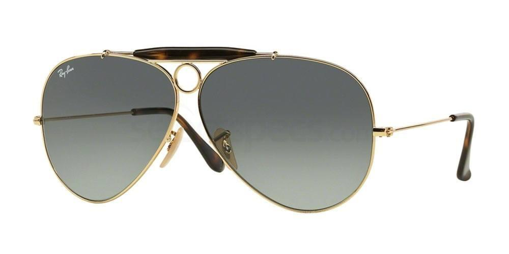 Ray-Ban RB3138 Aviator - Shooter