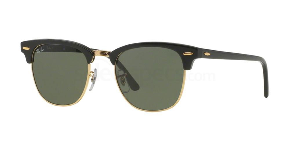 W0365 RB3016 Outsiders - Clubmaster Sunglasses, Ray-Ban