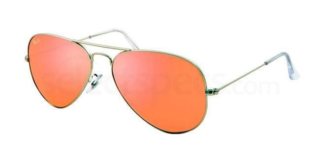 Ray-Ban RB3025 Aviator Large Metal Sunglasses at SelectSpecs