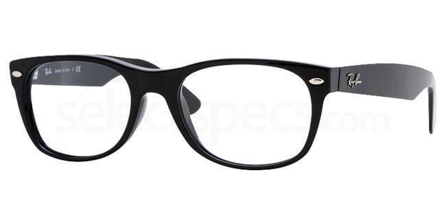 ray ban wayfarer prescription lenses  ray ban rx5184 new wayfarer (1/3) glasses
