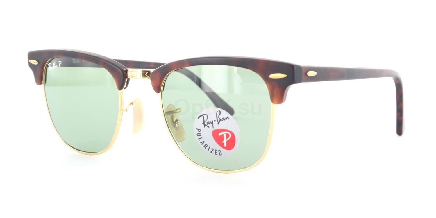 1145O5 RB3016 - Clubmaster (HRG) (Polarized) , Ray-Ban