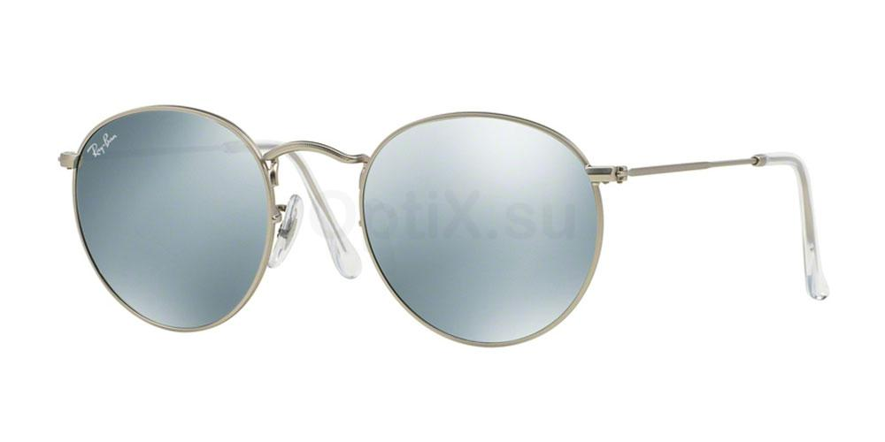 019/30 RB3447 Round Metal 2/2 Sunglasses, Ray-Ban
