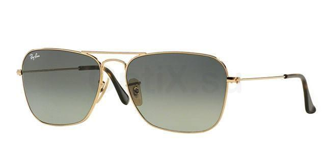 181/71 RB3136 Aviator - Caravan - HAVANA COLLECTION , Ray-Ban
