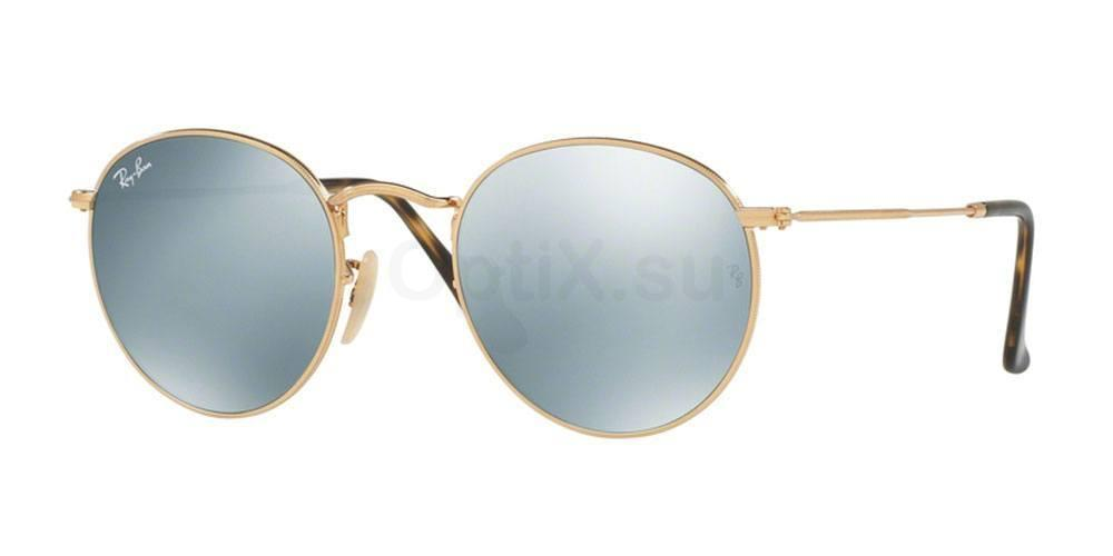 001/30 RB3447N ROUND METAL Sunglasses, Ray-Ban