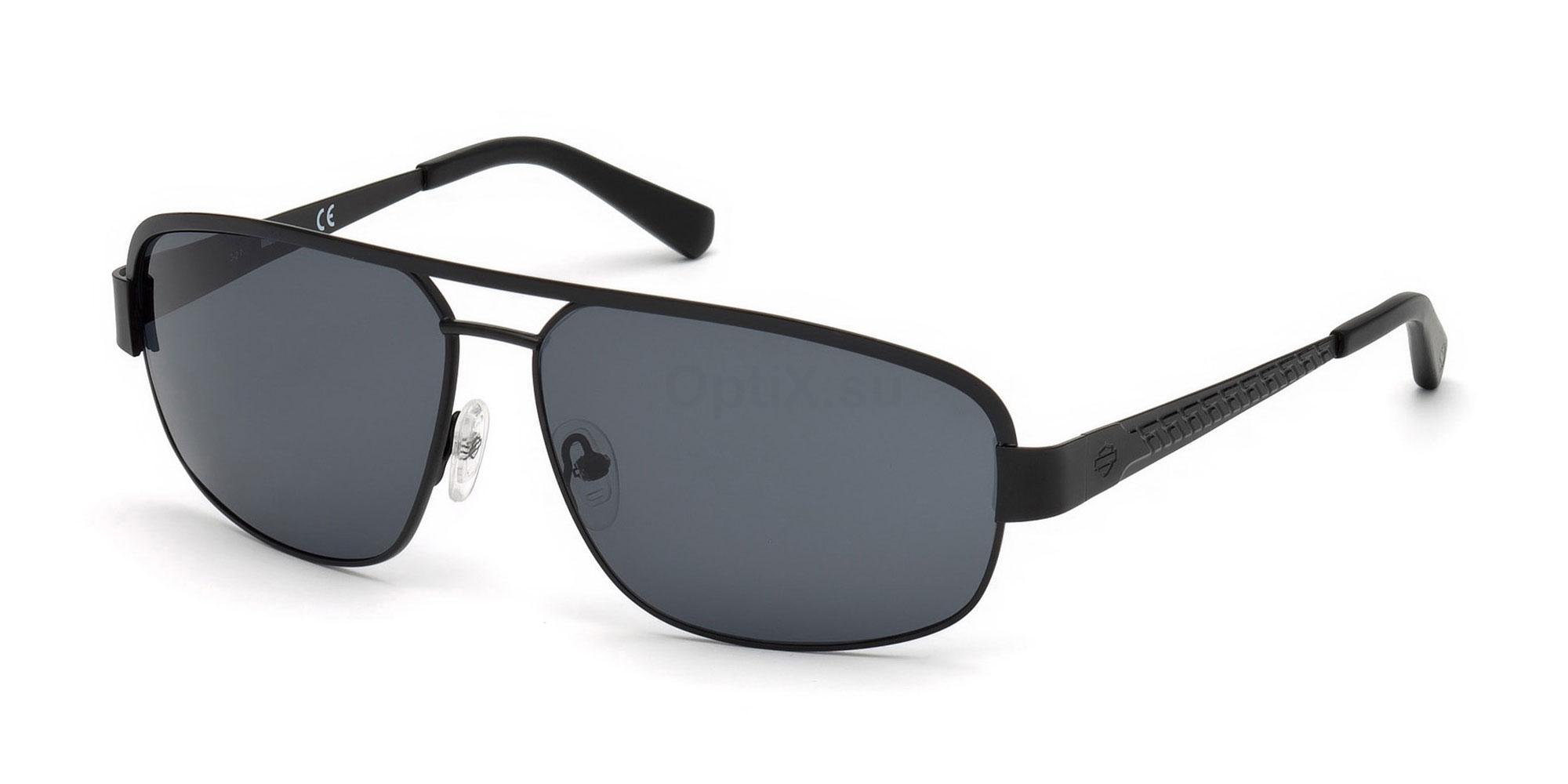 02A HD0924X Sunglasses, Harley Davidson
