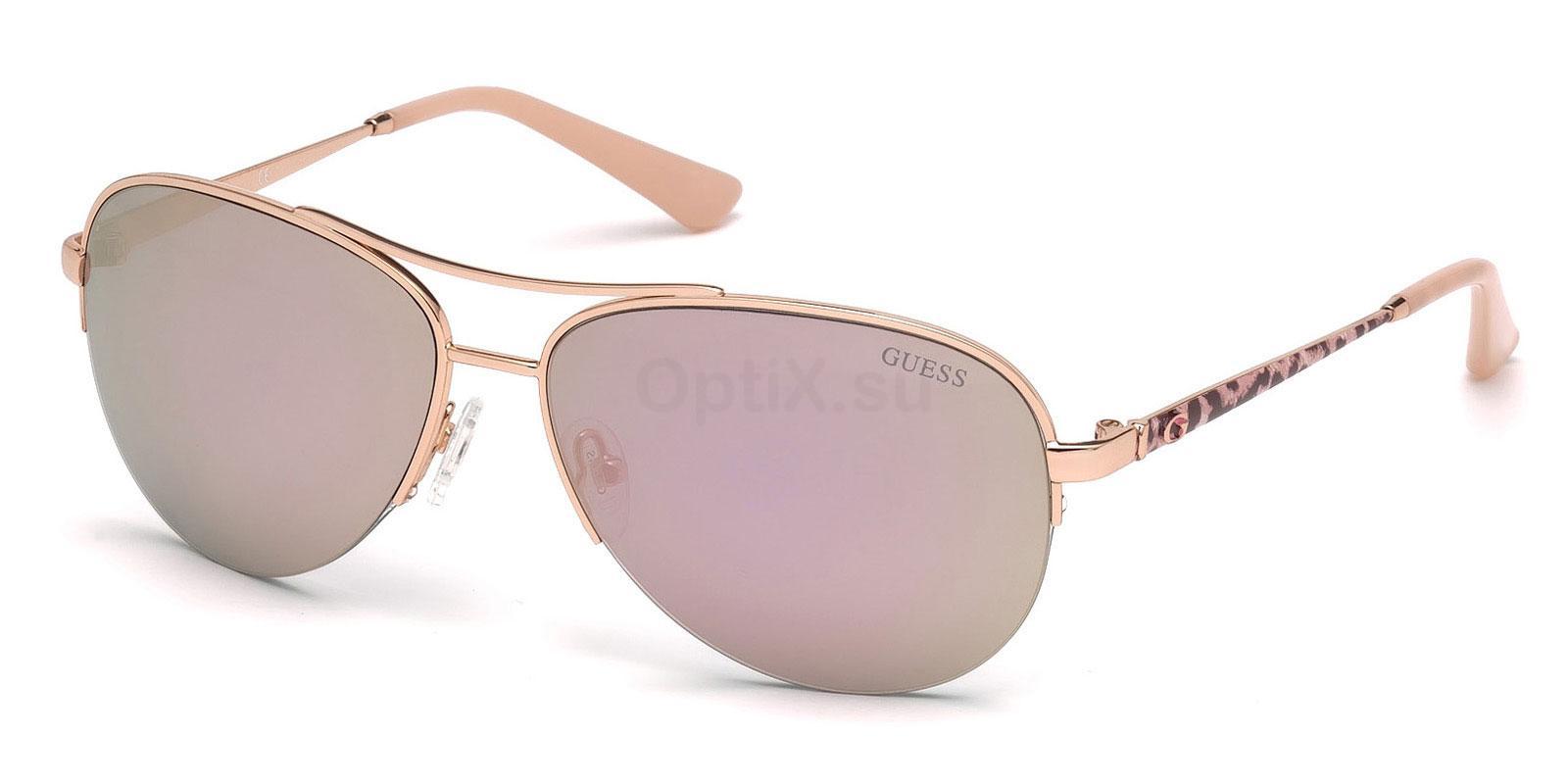 28C GU7468 Sunglasses, Guess