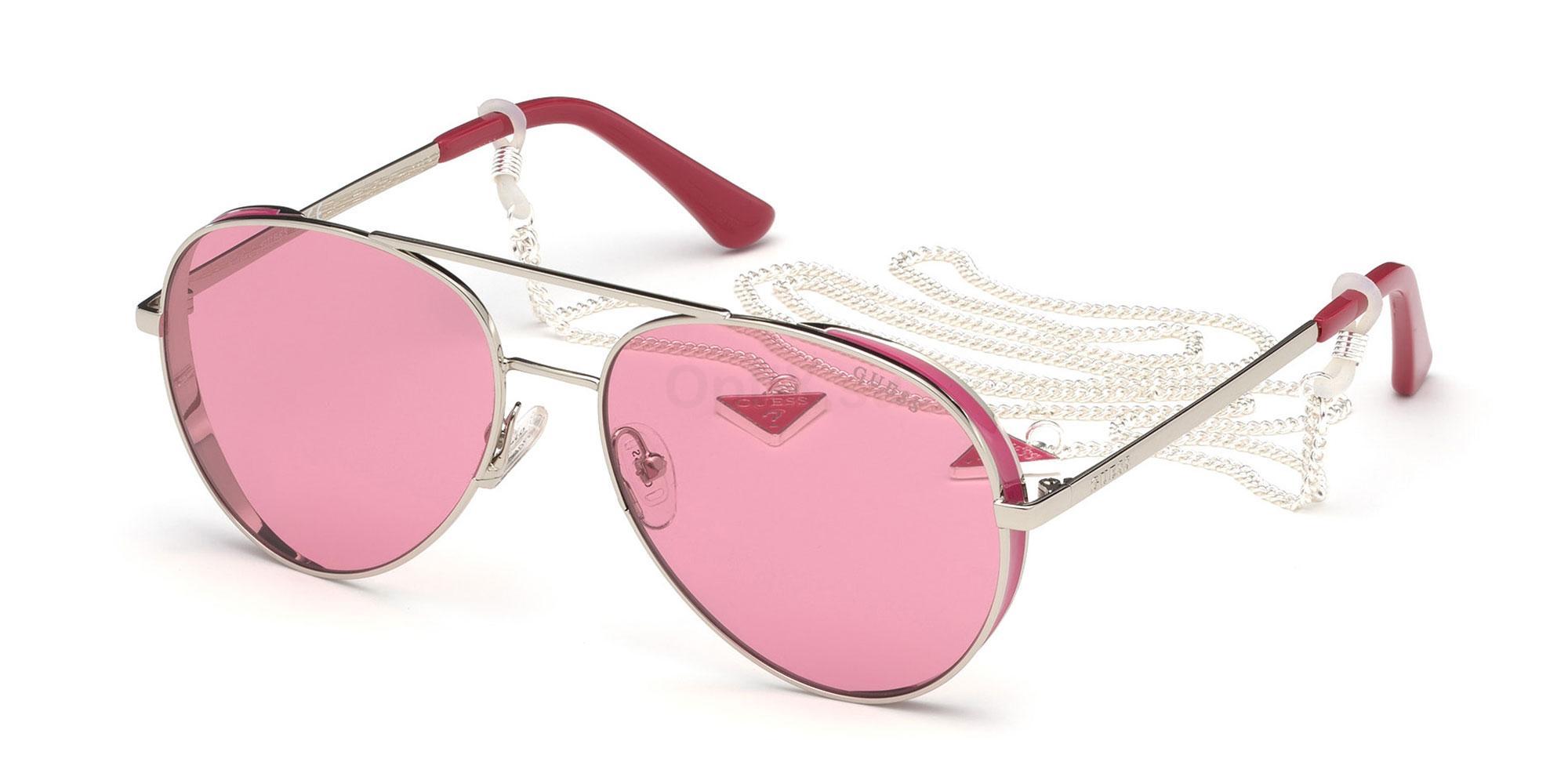 10T GU7607 Sunglasses, Guess
