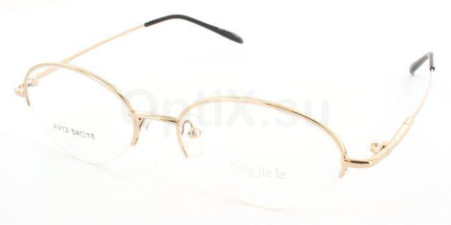 Gold A912 Glasses, SelectSpecs