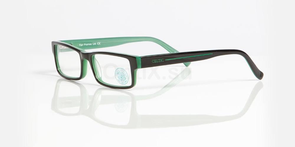 Black and Green CELTIC FC - OCE003 , Fan Frames