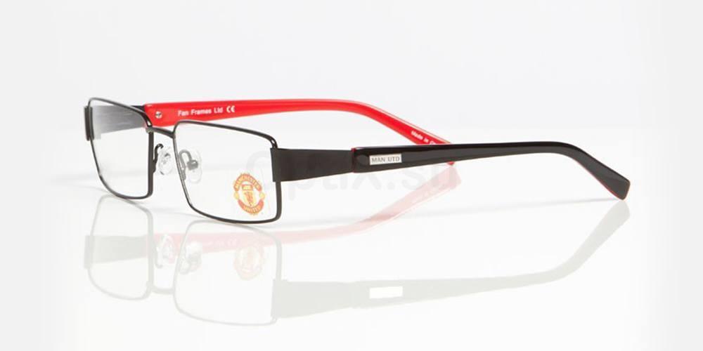 Black and Red MANCHESTER UTD - OMU004 , Fan Frames