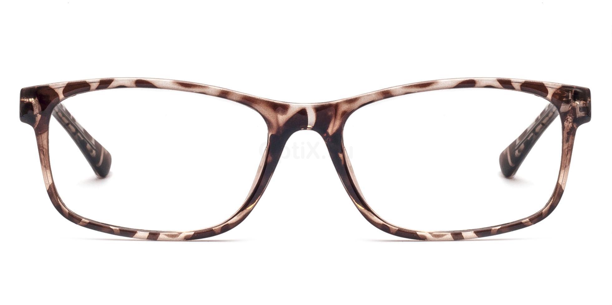 Transparent Pattern 6299 Glasses, Savannah