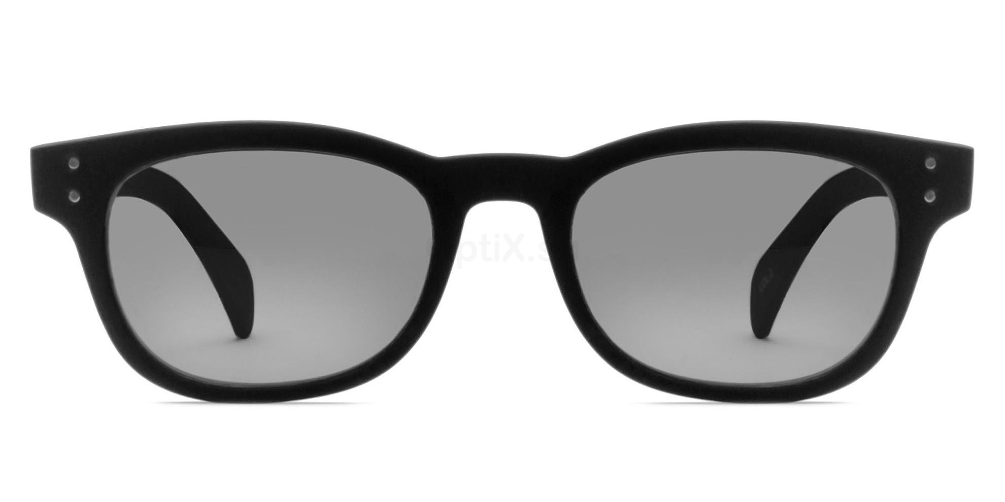 C02 Dark Grey 2249 - Matte Black (Sunglasses) , Savannah
