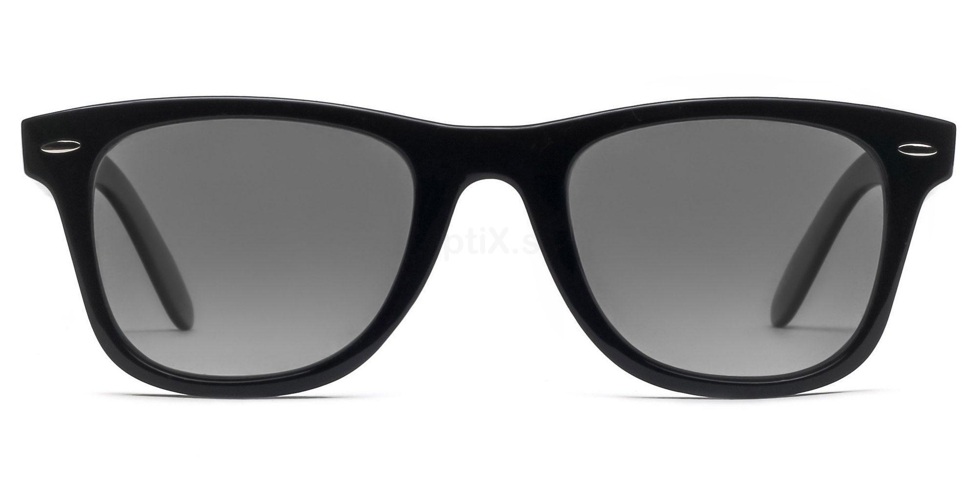 C01 Polarized Grey P2429 - Black (Polarized) Sunglasses, Savannah