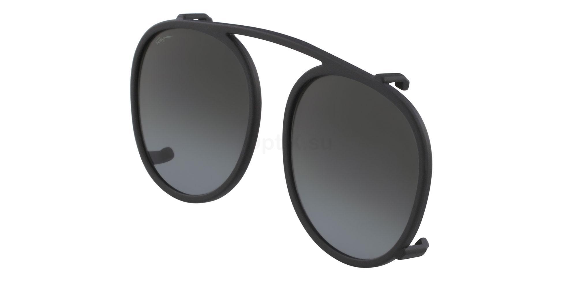 002 SF2818 CLIP Sunglasses, Salvatore Ferragamo