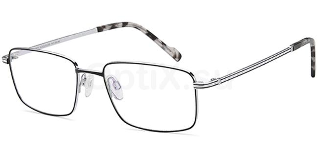 Black/Silver SAK1007T Glasses, Sakuru