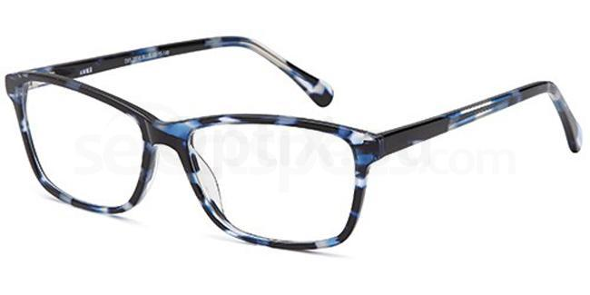 Demi Blue D85 Glasses, Brooklyn