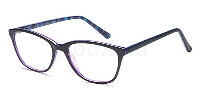 Blue/Purple D88 Glasses, Brooklyn